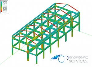 CP Engineering Service - Solido tridimensionale progetto caseificio Donnarumma Agerola