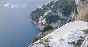 CP Engineering Service progetto piscina a sfioro Luxury Hotel Spa Monastero Santa Rosa